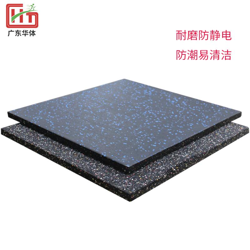 Wear-resistant rubber floor ma